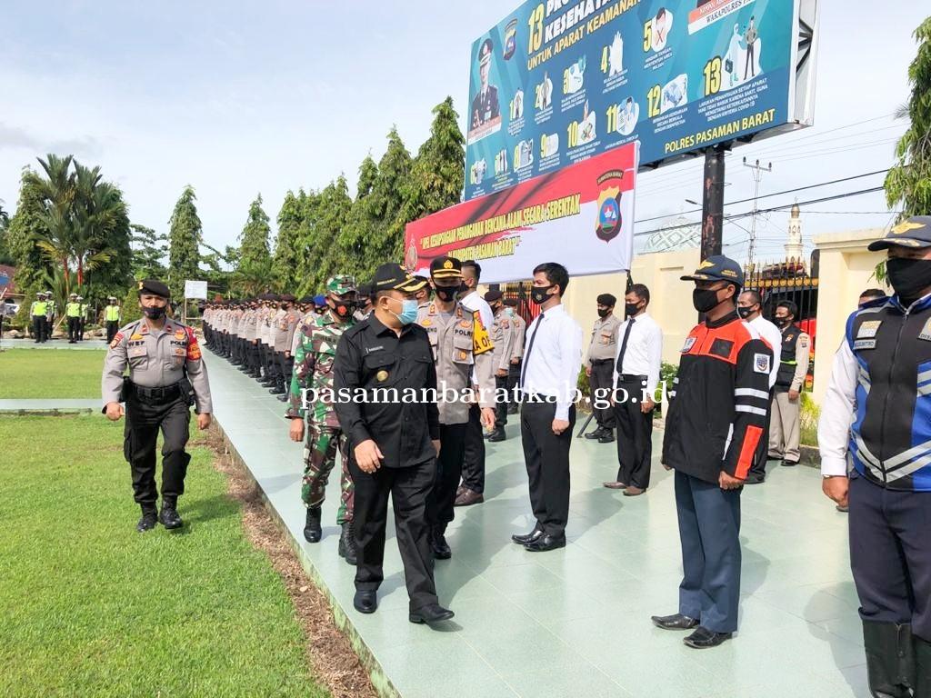 Pjs Bupati Hansastri Pimpin Apel Kesiapsiagaan Bencana Serentak Di Pasbar