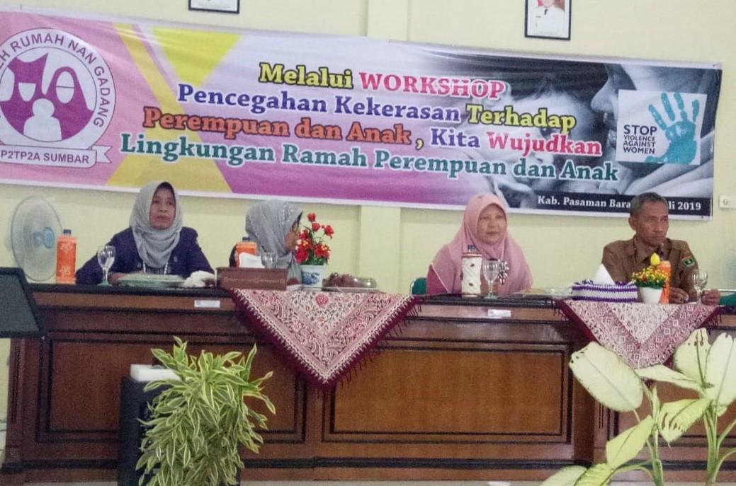 Workshop Pencegahan Kekerasan Terhadap Perempuan Dan Anak