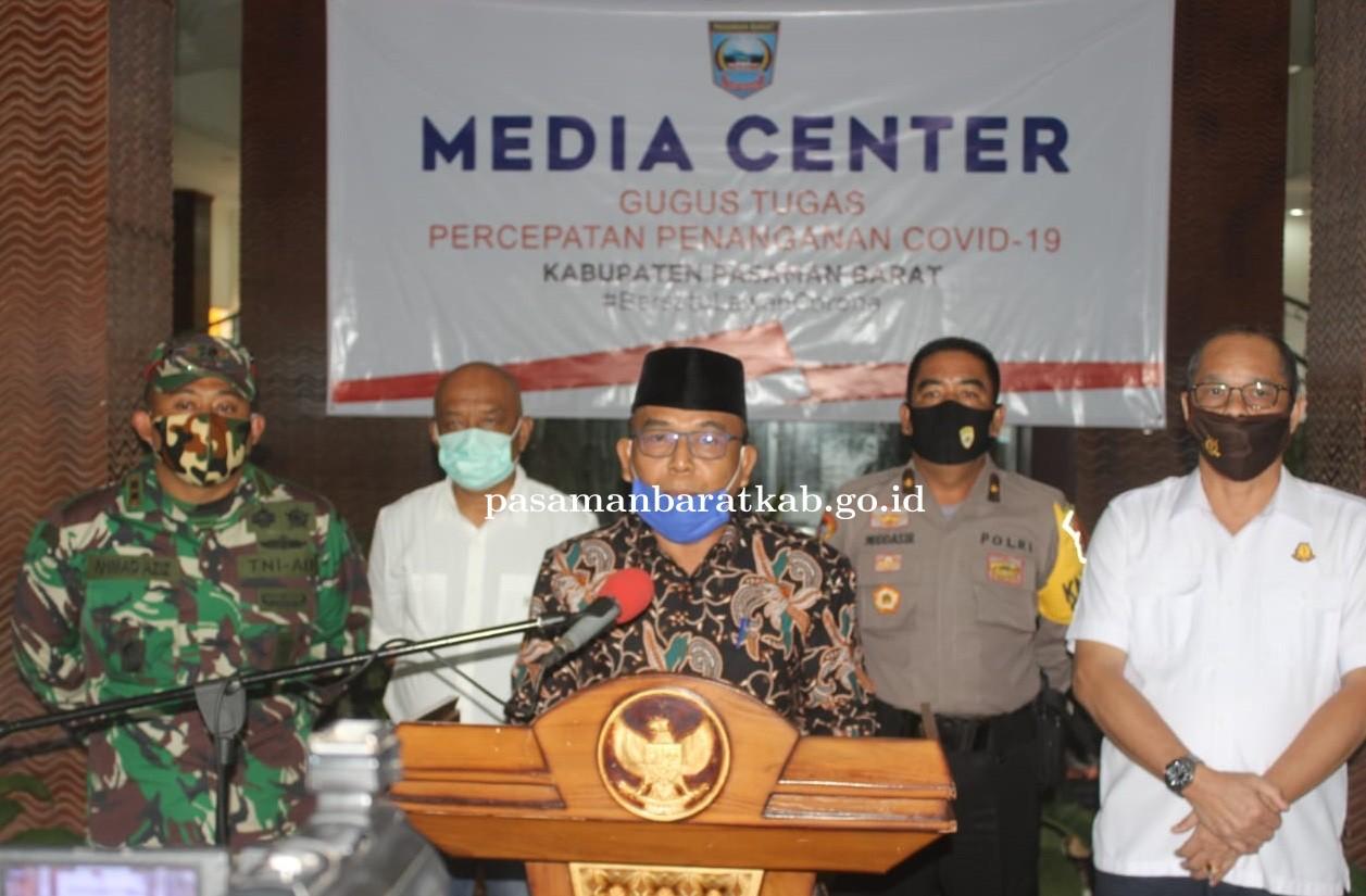 Cabut Status PSBB Kabupaten Pasbar Terapkan New Normal