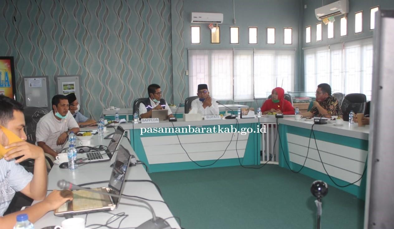 Prioritaskan pembangunan Jalan Teluk Tapang Bupati Yulianto dengarkan arahan Kemenko Maritim dan Wag